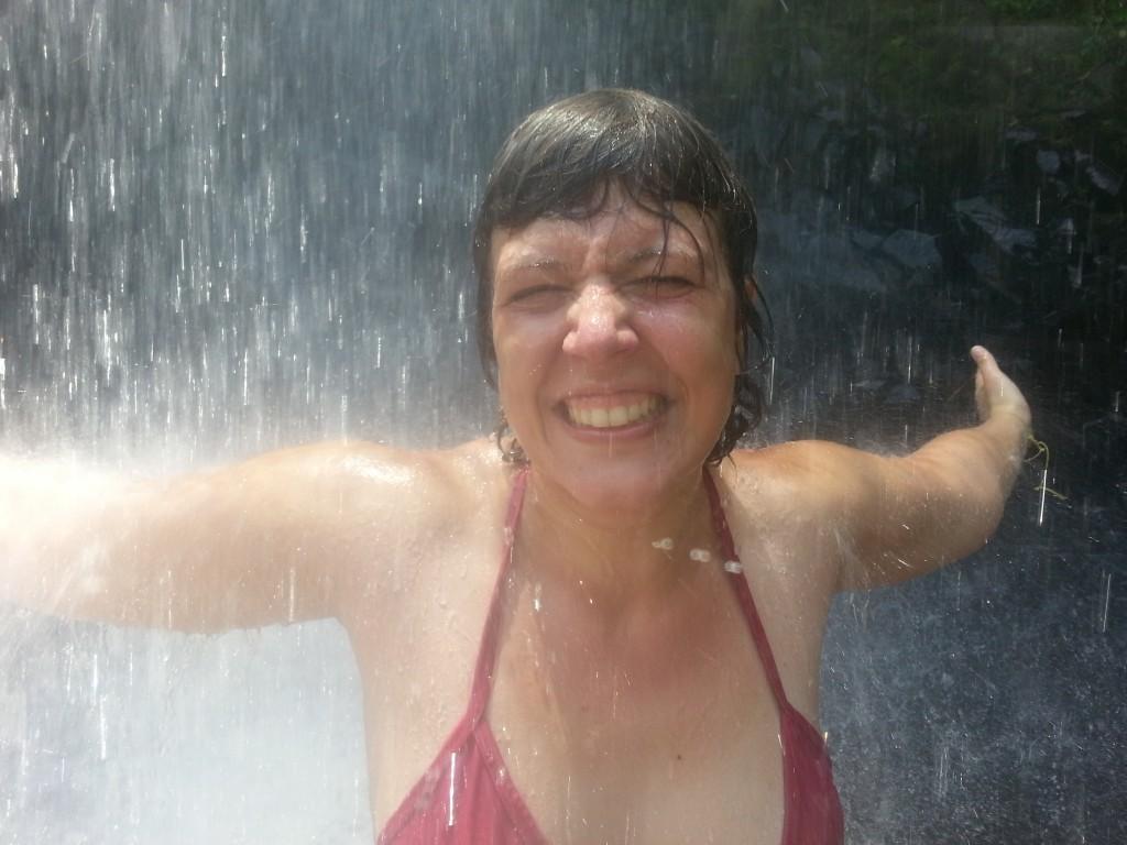 Lucie aux chutes d'Iguazu - A propos