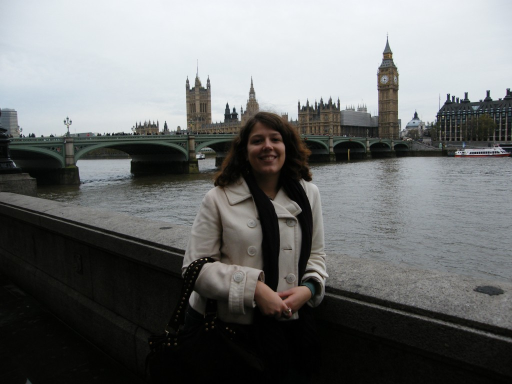 Lucie à Londres - Big Ben