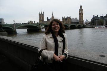 Lucie à Londres - Big Ben