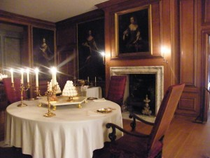 For William III's private dinners