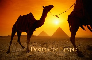Destination Egypte