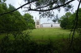 Trinity College vu des Backs