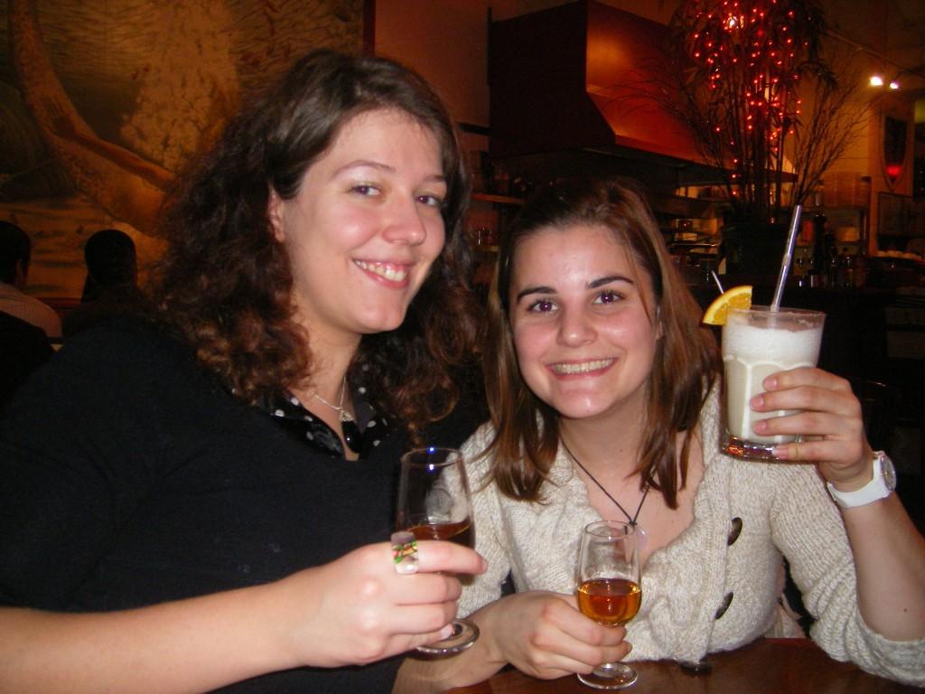 Lucie et Sophie à Londres