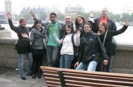 Couchsurfers en visite à Londres