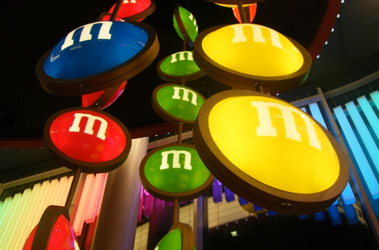 M&Ms world shop