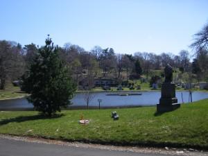 Un cimetière à Brooklyn