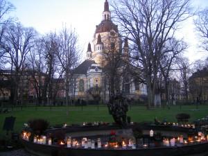 Cimetière de Katarina Kyrka à Stockholm