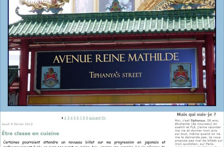 Blog Tiphanya