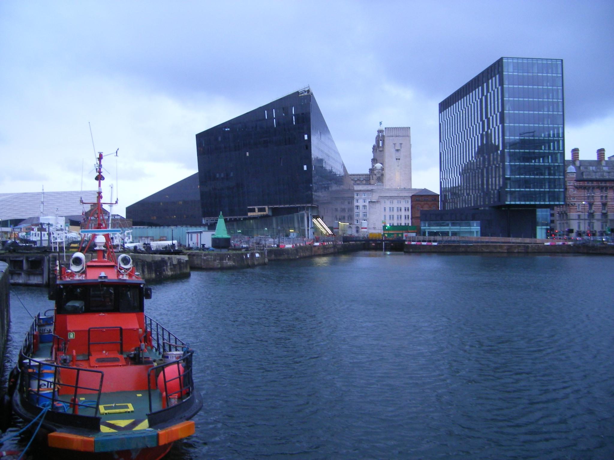 Docks à Liverpool