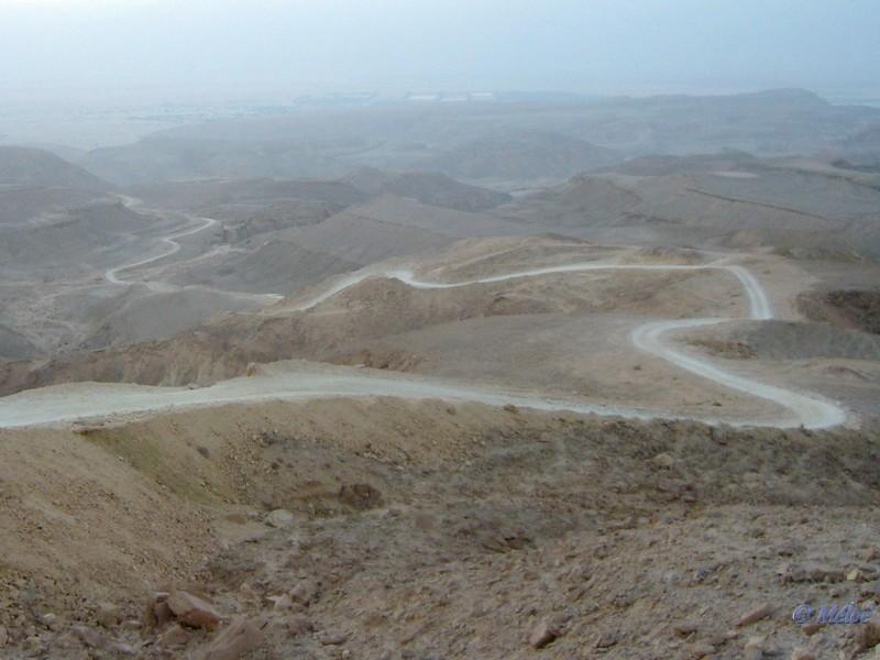 Piste dans le desert du Negev