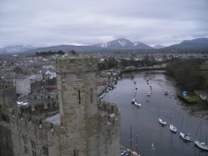Caernarfon, entre mer et montagne