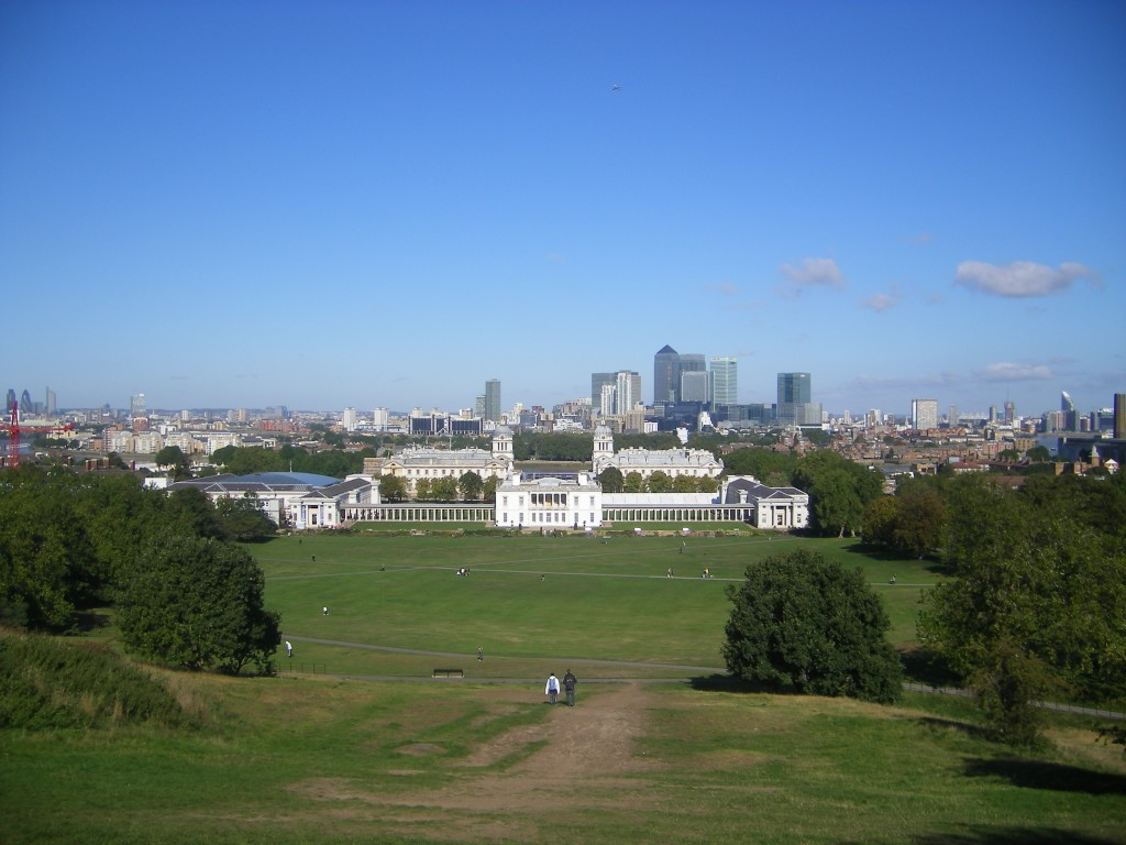 11. Vue de Greenwich park 1024x768 Un week end pas cher à Londres