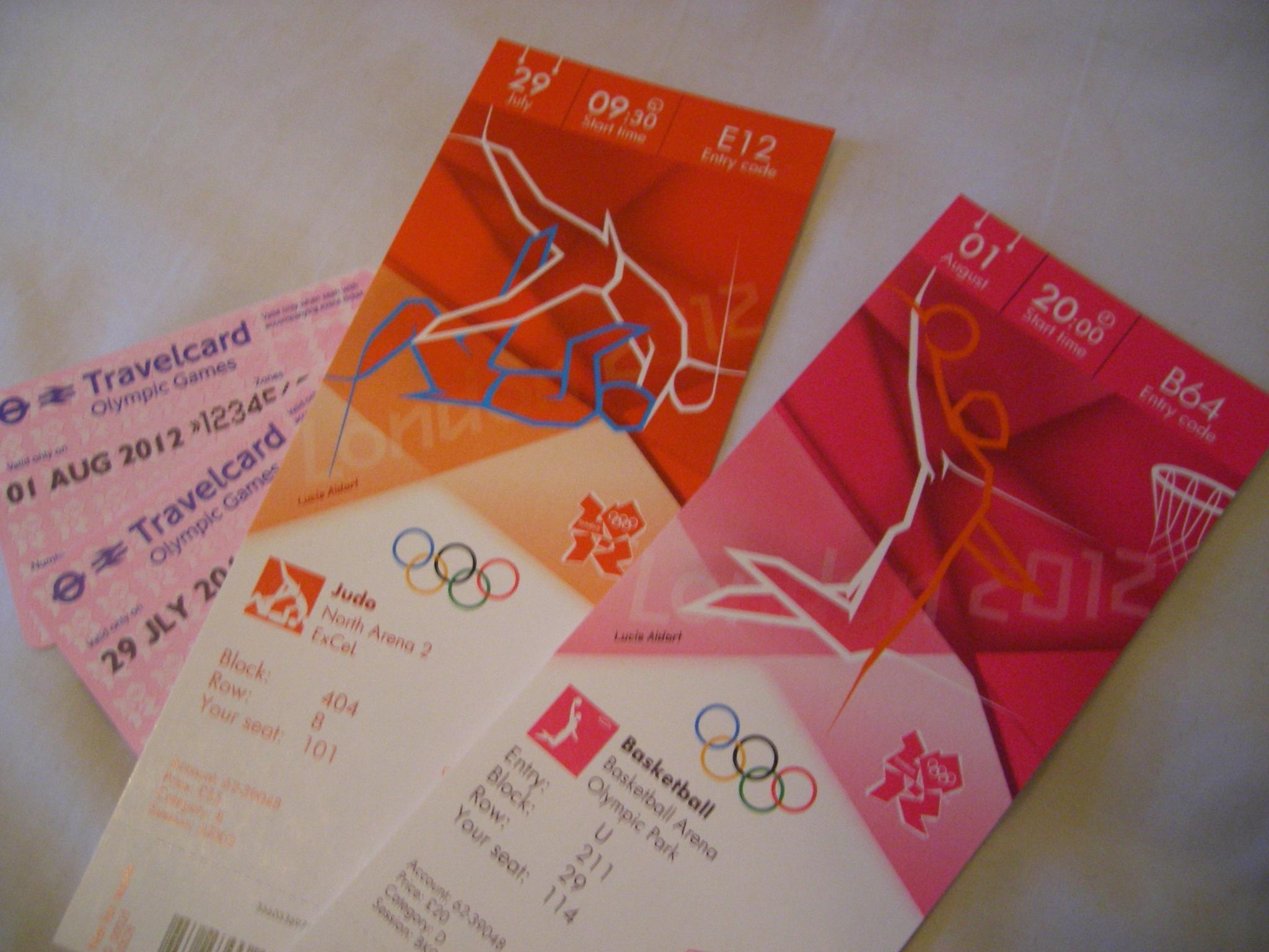 Tickets JO