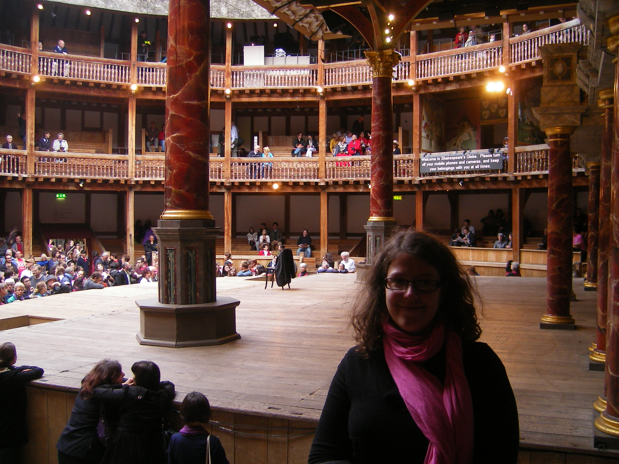 Au Shakespeare's Globe Theater, Juin 2012