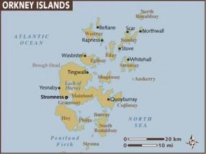 Les îles Orcades