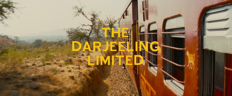 title darjeeling limited blu ray Rêves de voyages en train...
