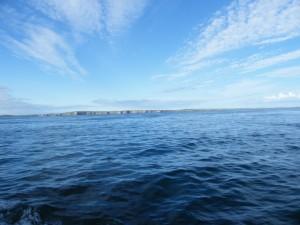 Les îles Orcades en vue