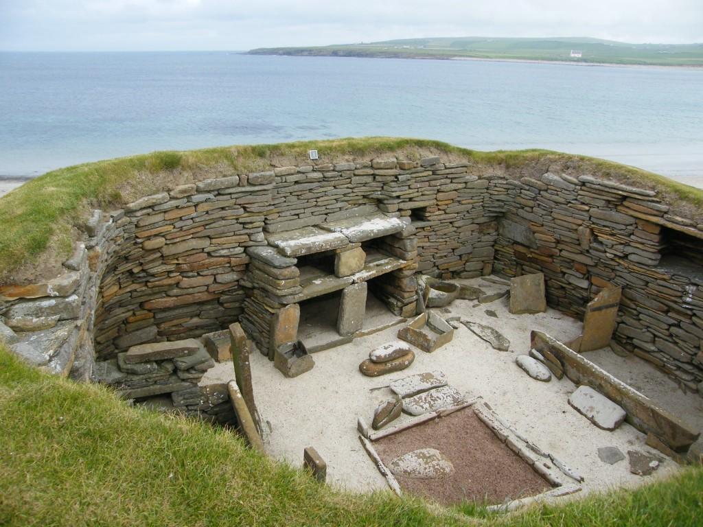 Une des maisons de Skara Brae