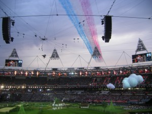 Lancement de la cérémonie d'ouverture