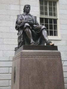 Statute de John Harvard
