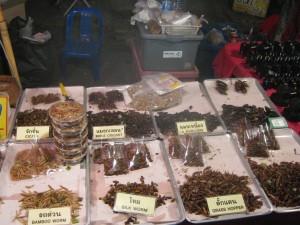 nourriture de marché