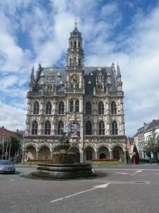 Hôtel de ville à Oudenaarde