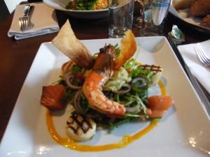 Salade au Grand Café Lamot