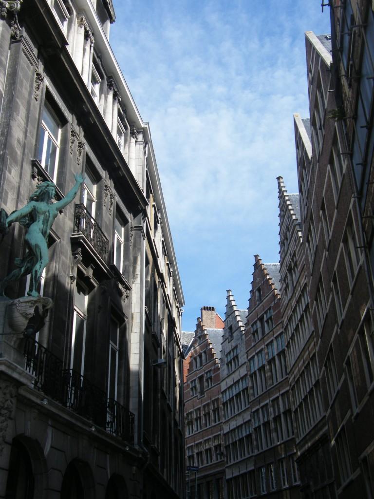 Au détour d'une rue à Anvers
