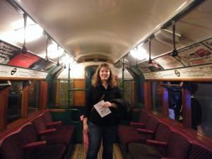 Dans un ancien métro