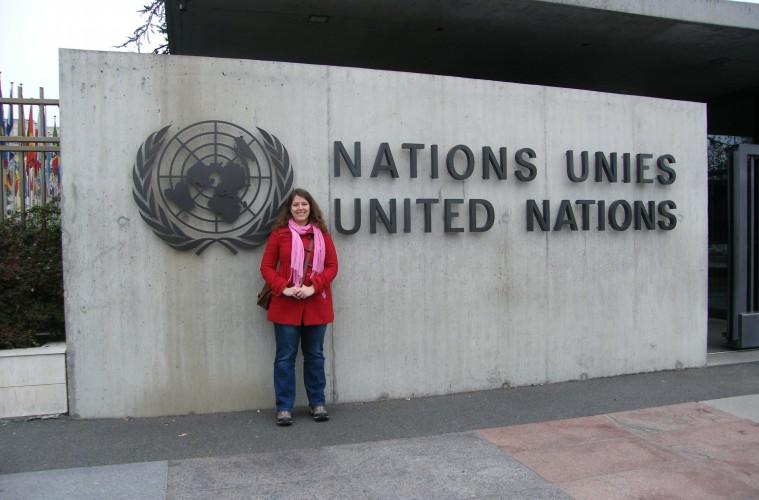 Lucie devant les Nations Unies