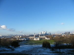 Greenwich in winter