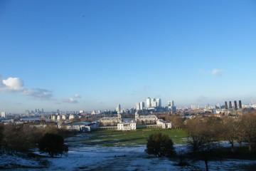 Greenwich en hiver