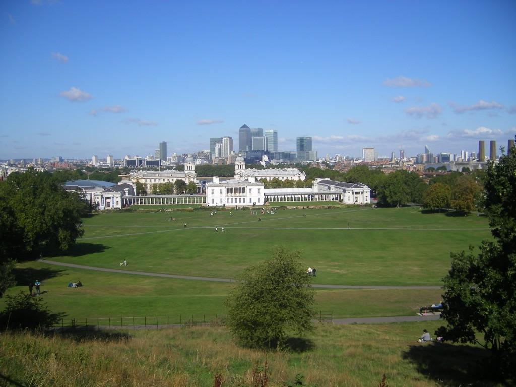 Vue sur Greenwich