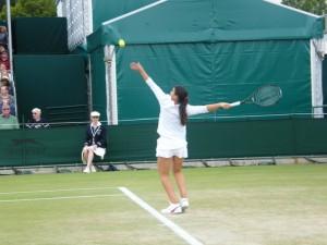 Marion Bartoli, Championnats de Wimbledon, Juin 2011