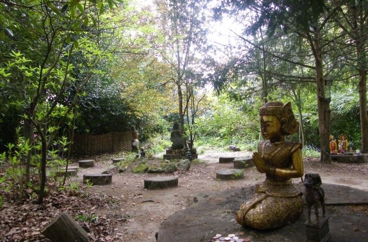 Temple boudhiste à Wimbledon