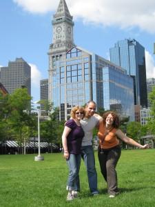 Fraîchement arrivés à Boston