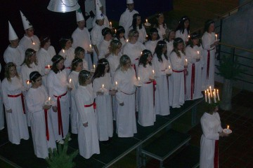 Sankta Lucia à Växjö