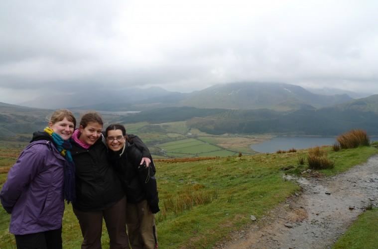 Descente du mont Snowdon