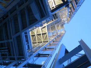 La structure du Shard