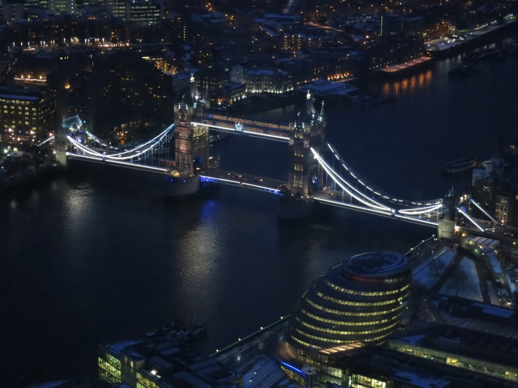 Tower Bridge by night