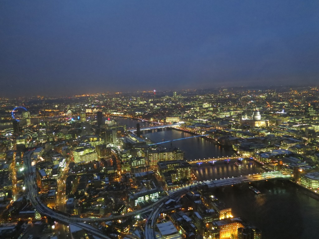 Vue sur Londres - The Shard