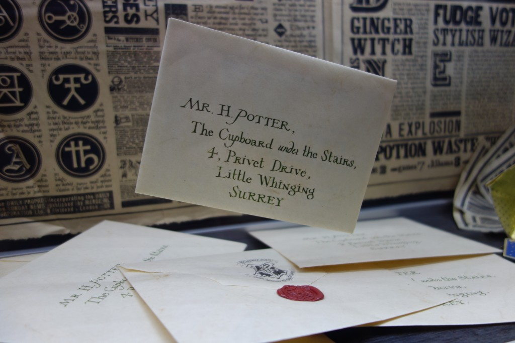 Lettre Harry Potter