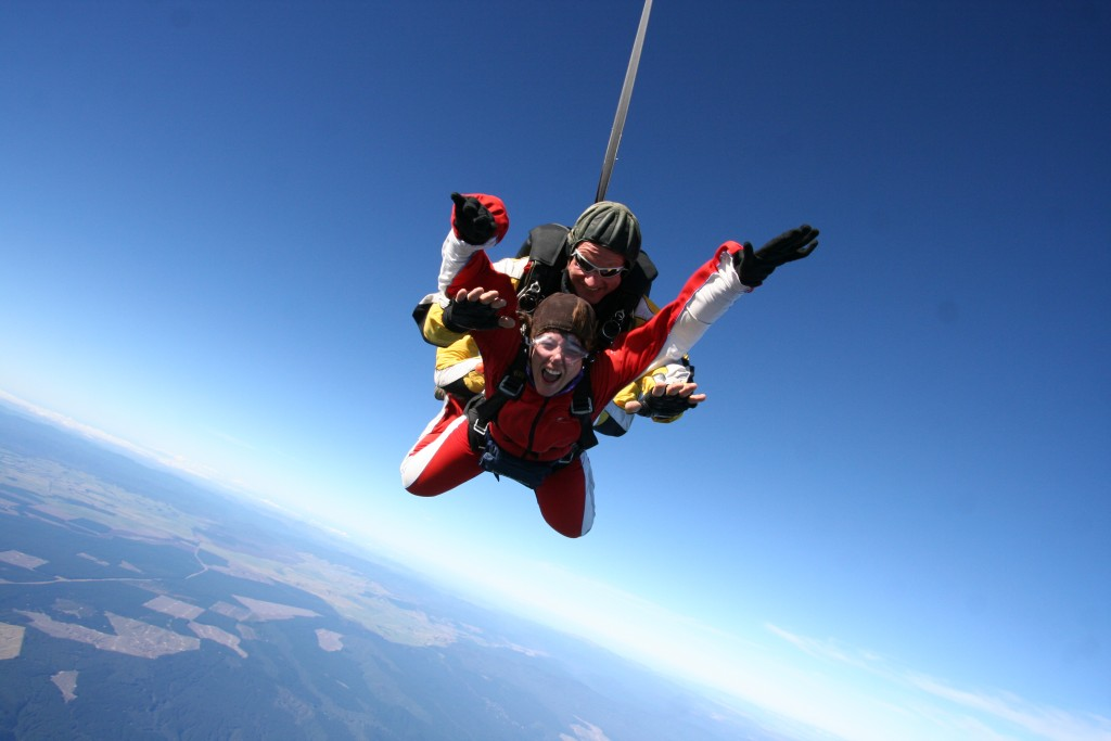 Saut en parachute - Nouvelle-Zélande - Mes voyages