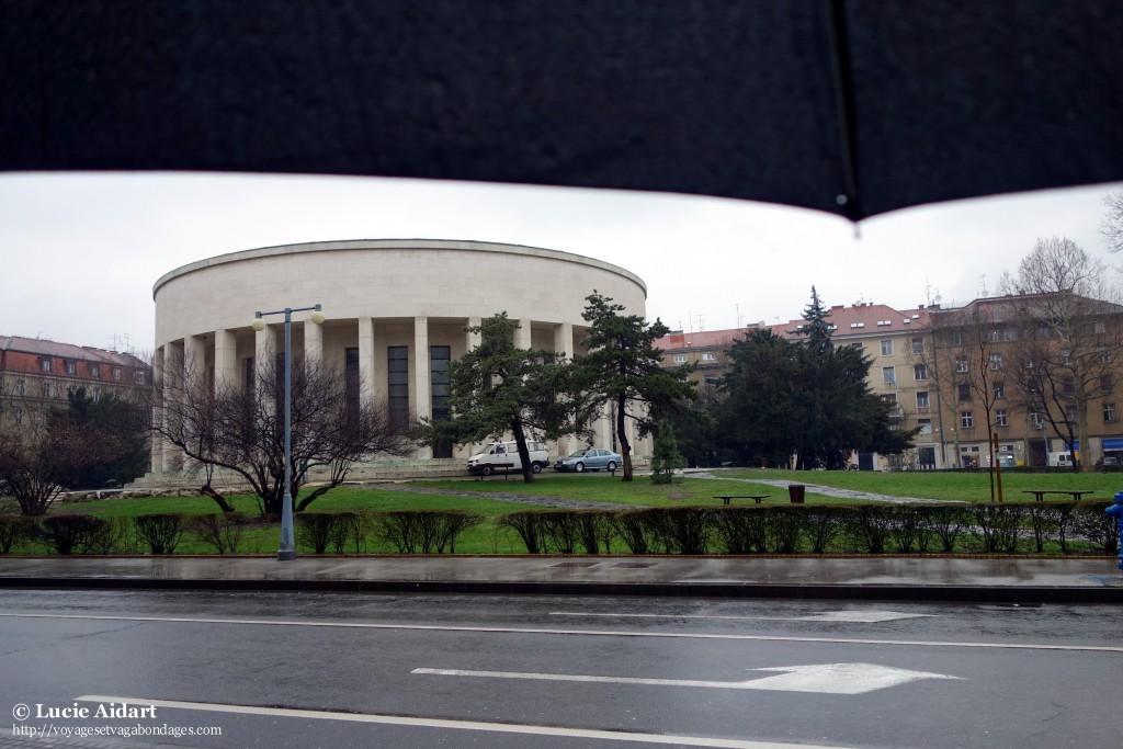 La vue sous mon parapluie