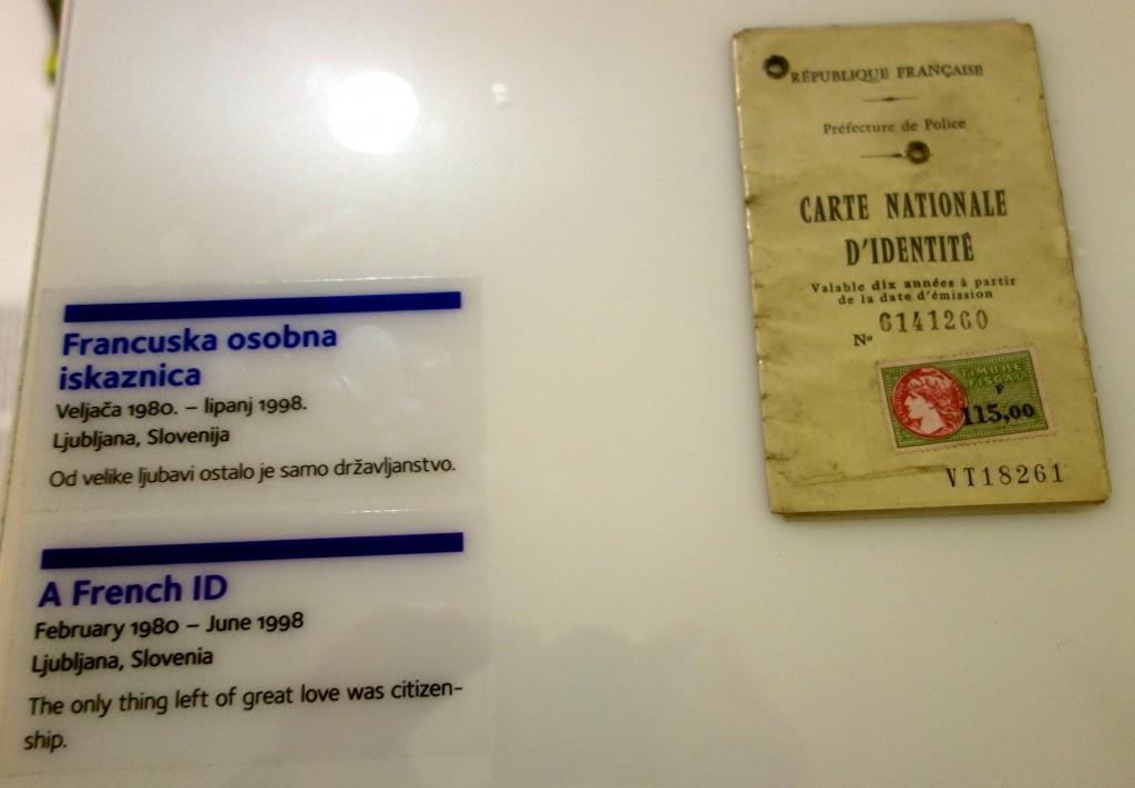 Mariage nationalité, museum of broken relationships