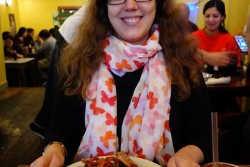 Lucie et son american breakfast