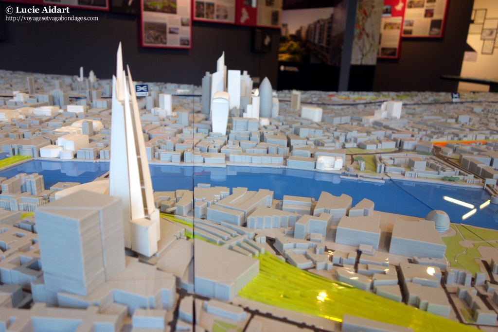 Maquette Londres New London Architecture Shard
