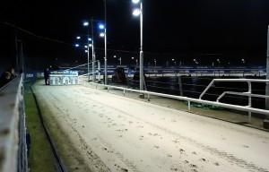 La piste est prête pour la course