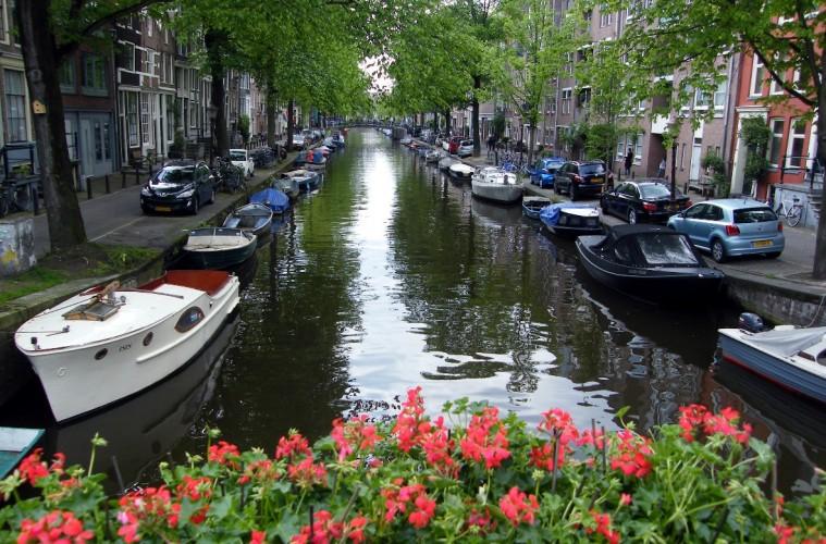 Canaux à Amsterdam