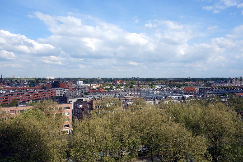 Vue du Stay Inn Hostel, Rotterdam